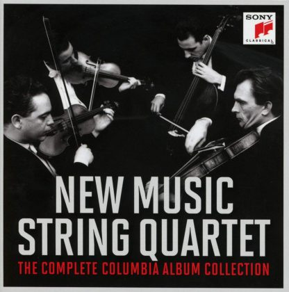 Photo No.1 of New Music String Quartet - The Complete Columbia Album Collection