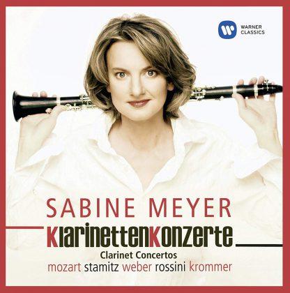Photo No.1 of Sabine Meyer: Clarinet Concertos