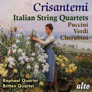 Photo No.1 of Crisantemi: Italian String Quartets Puccini – Cherubini – Verdi