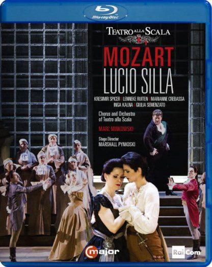 Photo No.1 of Wolfgang Amadeus Mozart: Lucio Silla, K135 (Blu-Ray)