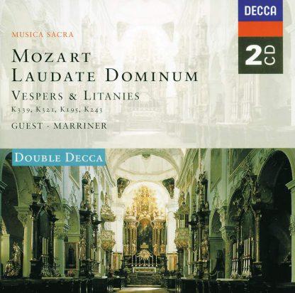 Photo No.1 of Wolfgang Amadeus Mozart: Laudate Dominum