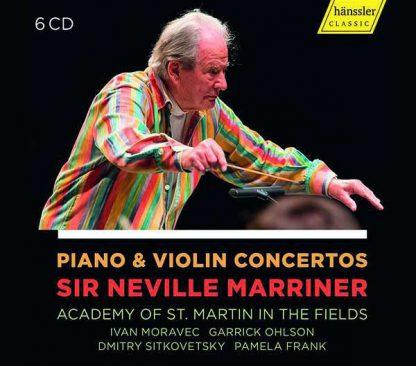 Photo No.1 of Marriner conducts piano and violin concertos