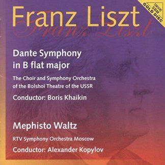 Photo No.1 of Liszt: Dante Symphony & Mephisto Waltz