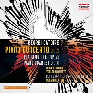 Photo No.1 of Catoire: Piano Concerto Op. 21