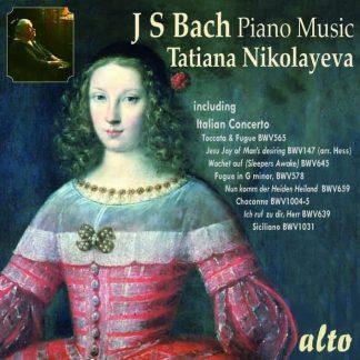 Photo No.1 of Tatiana Nikolayeva plays Bach for Piano