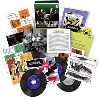 Photo No.1 of Juilliard Quartet - The Early Columbia Recordings