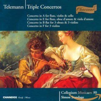 Photo No.1 of Georg Philipp Telemann: Triple Concertos