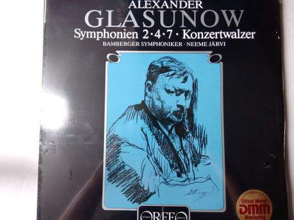 Photo No.1 of Glazunov: Symphonies Nos 2, 4, 7