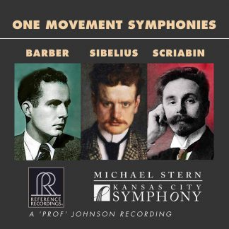 Photo No.1 of Barber, Sibelius & Scriabin: One Movement Symphonies