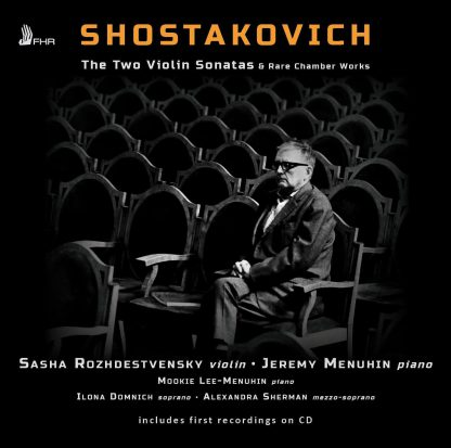 Photo No.1 of The Two Violin Sonatas & Rare Chamber Works - Jeremy Menuhin