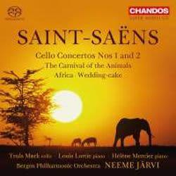 Photo No.1 of Saint-Saëns: Cello Concertos Nos. 1 & 2