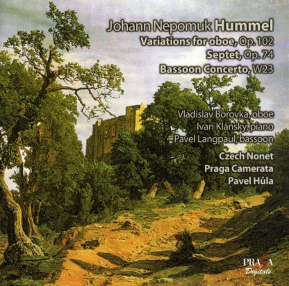 Photo No.1 of Johann Nepomuk Hummel: Variations for Oboe, Septet, Bassoon Concerto