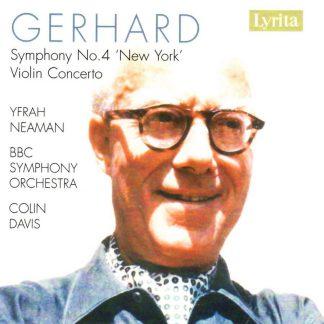 Photo No.1 of Gerhard: Symphony No. 4 & Violin Concerto