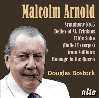 Photo No.1 of Malcolm Arnold: Symphony No. 5, Divertimento No.2, Belles of St.Trinian's
