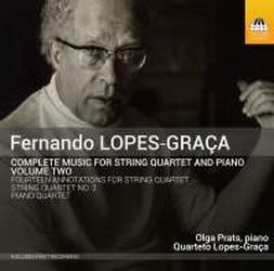 Photo No.1 of Fernando Lopes-Graça: Complete Music for String Quartet and Piano, Volume Two
