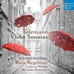 Photo No.1 of Telemann: Violin Sonatas