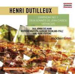 Photo No.1 of Dutilleux: Symphony No. 1, 2 Sonnets de Jean Cassou & Métaboles