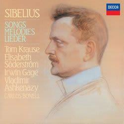 Photo No.1 of JEAN SIBELIUS: Songs Melodies Lieder