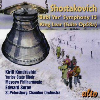 Photo No.1 of Shostakovich: Symphony No. 13 'Babi Yar' Incidental Music for King Lear, Op. 58a