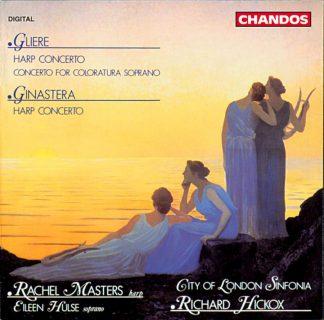 Photo No.1 of Alberto Ginastera & Reinhold Gliere: Harp Concertos
