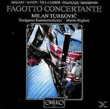 Photo No.1 of Milan Turkovic: Fagotto Concertante