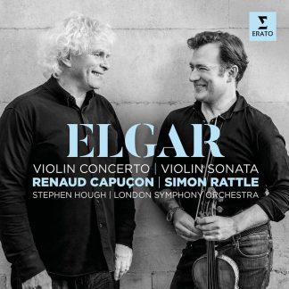 Photo No.1 of Edward Elgar: Violin Concerto & Violin Sonata