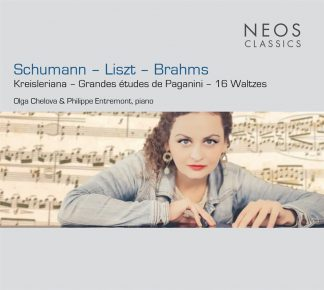 Photo No.1 of Olga Chelova - Schumann, Liszt, Brahms