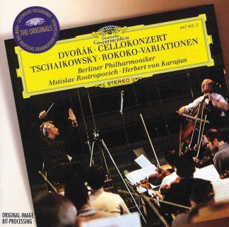 Photo No.1 of Dvorak & Tchaikovsky: Works for Cello & Orchestra