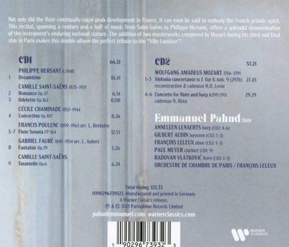 Photo No.2 of Emmanuel Pahud - Mozart & Flute in Paris