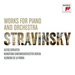 Photo No.1 of Stravinsky: Works for Piano and Orchestra