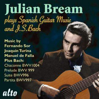 Photo No.1 of Julian Bream plays J S Bach & Spanish Guitar Music