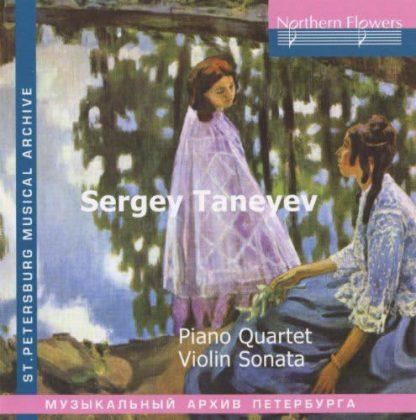 Photo No.1 of Taneyev: Piano Quartet - Violin Sonata