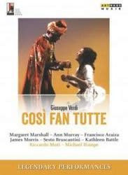 Photo No.1 of Mozart: Così fan tutte, K588 (DVD)
