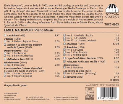 Photo No.2 of Émile Naoumoff: Complete Piano Music