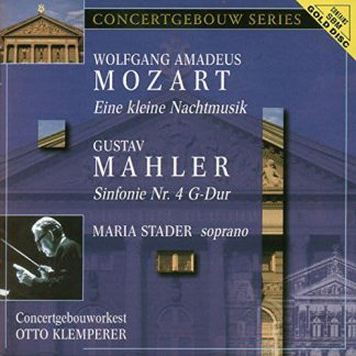 Photo No.1 of Klemperer conducts Mozart & Mahler