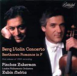 Photo No.1 of Zukerman plays Berg: Violin Concerto et al