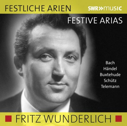 Photo No.1 of Wunderlich, Festive Arias