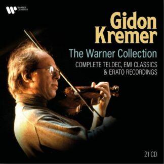 Photo No.1 of Gidon Kremer - The Warner Collection (Complete Teldec, EMI & Erato Recordings)