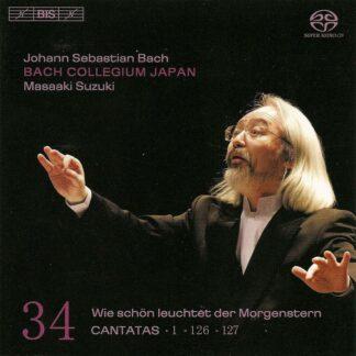 Photo No.1 of Johann Sebastian Bach: Cantatas Vol. 34 (BWV 1, 126, 127)