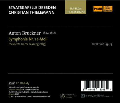 Photo No.2 of Anton Bruckner: Symphony No. 1 in C Minor, WAB 101 (Live)