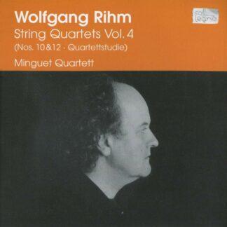 Photo No.1 of Wolfgang Rihm: String Quartets (Vol. 4)