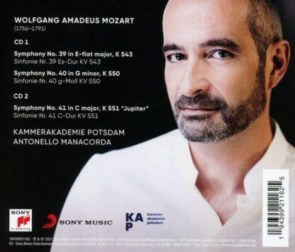 Photo No.2 of Wolfgang Amadeus Mozart: Symphonies Nos. 39, 40, 41