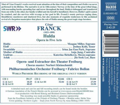 Photo No.2 of Cesar Franck: Hulda (Opera in 5 Acts - original version))