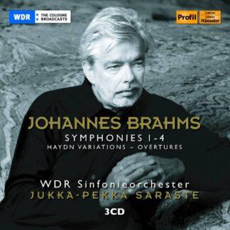Photo No.1 of Johannes Brahms: Symphonies Nos. 1-4 (Complete)