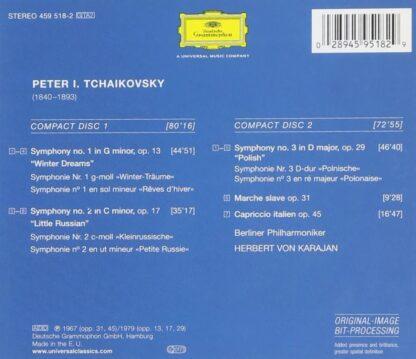 Photo No.2 of Tchaikovsky: Symphonies 1, 2, 3, Marche Slave, Capriccio Italien