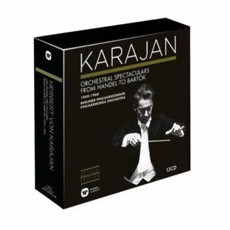 Photo No.1 of Herbert von Karajan Edition 9 - Orchestral Spectaculars from Handel to Bartok 1949-1960