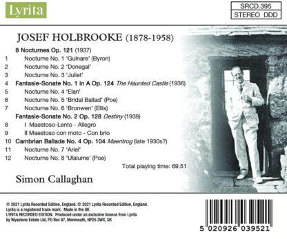 Photo No.2 of Josef Holbrooke: Late Piano Music