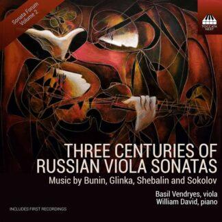 Photo No.1 of Basil Vendryes - Three Centuries of Russian Viola Sonatas