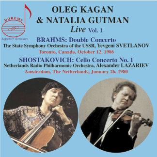 Photo No.1 of Oleg Kagan & Natalia Gutman - Live Vol. 1