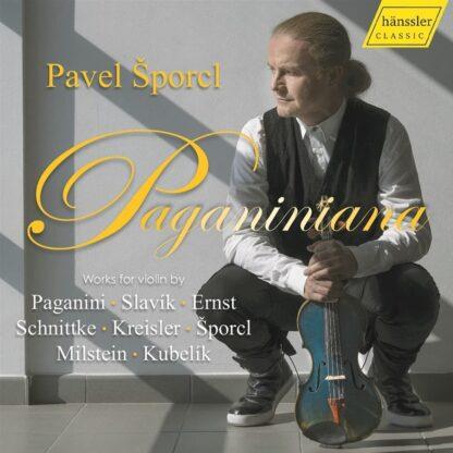 Photo No.1 of Pavel Sporcl - Paganiniana (Violin Works)